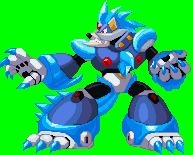 Blizzard Wolfang - Megaman X by RamzaNeko