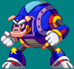 Hyper Storm H - Megaman: The Wily Wars by RamzaNeko
