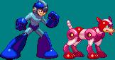 Rush CPS3 Styled (Megaman) by RamzaNeko