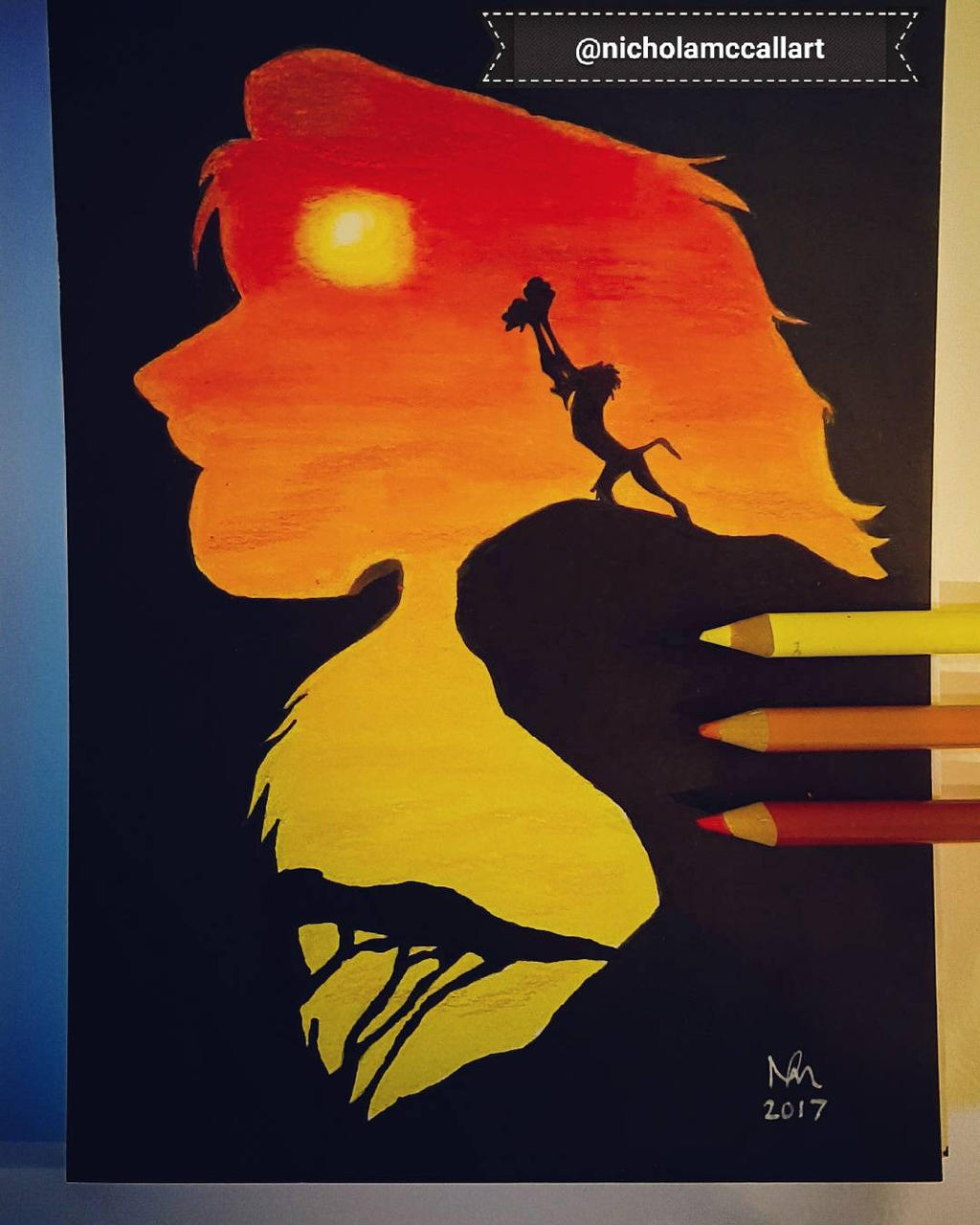 The Circle Of Life The Lion King By Nicholamccallart On Deviantart
