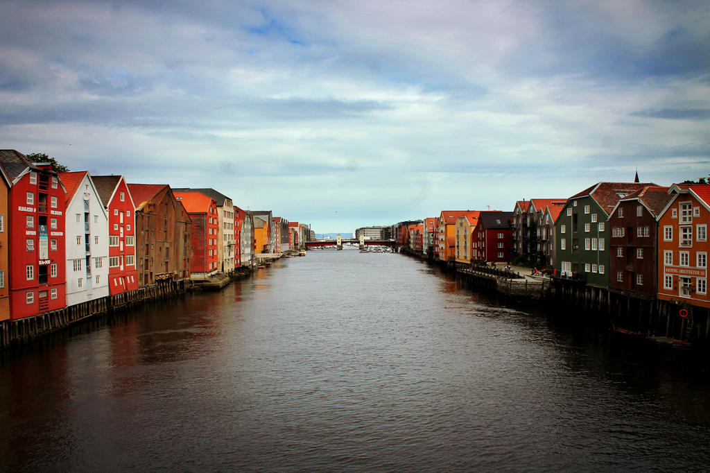 Trondheim by Hurricane007