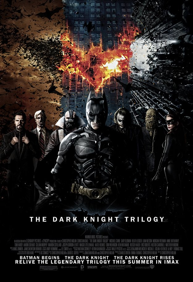The Dark Knight Trilogy by Fortekin7X0