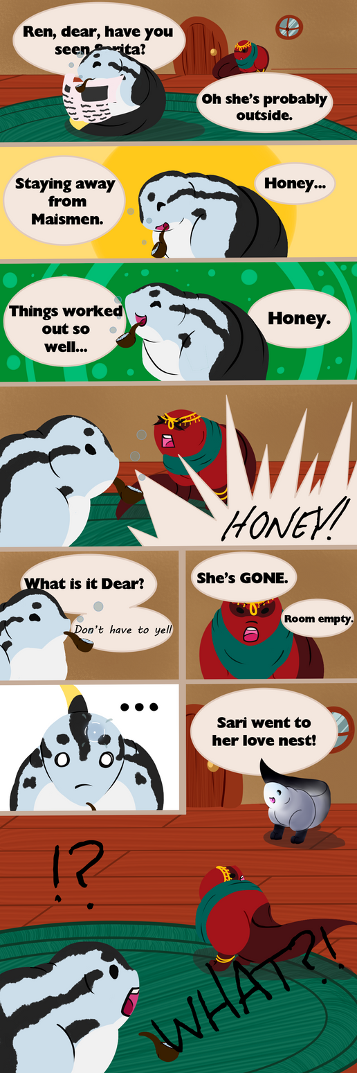 Changing of Seasons (Pg. 1) by ScalpelUser