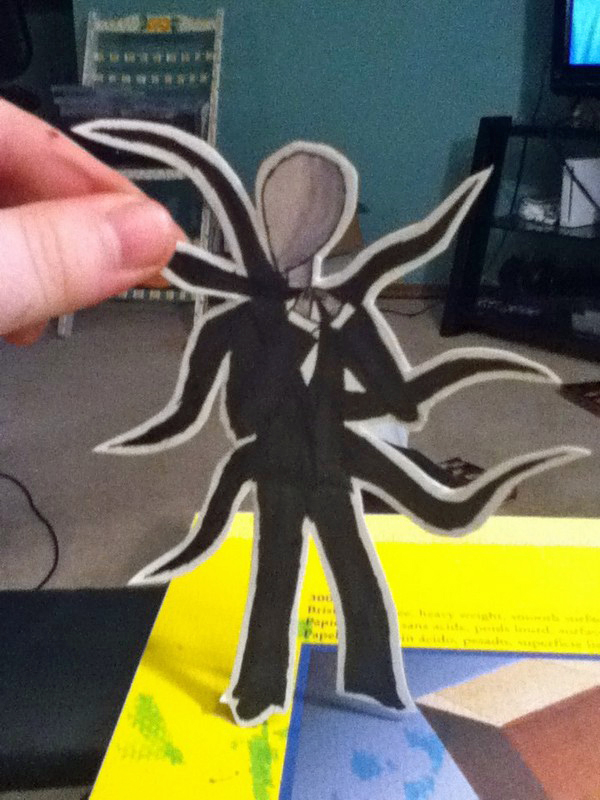 Slenderman PaperChild by Fallnangel7