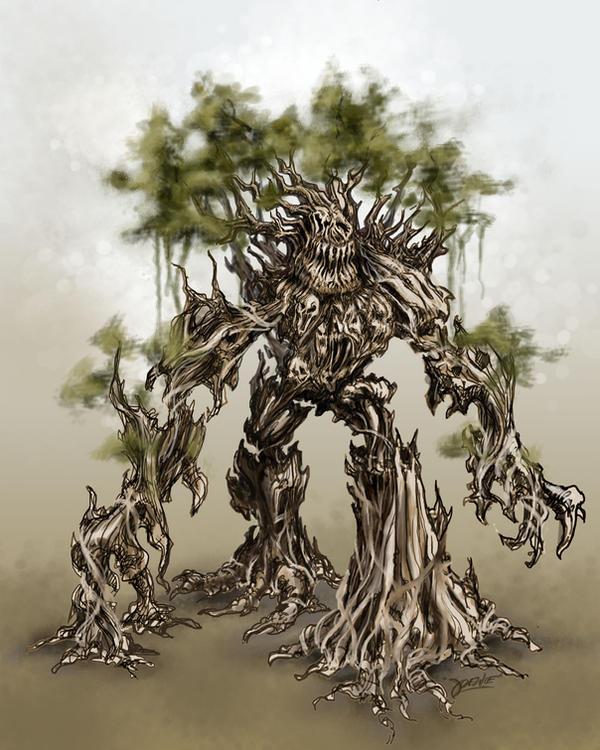 monster tree by loztvampir3