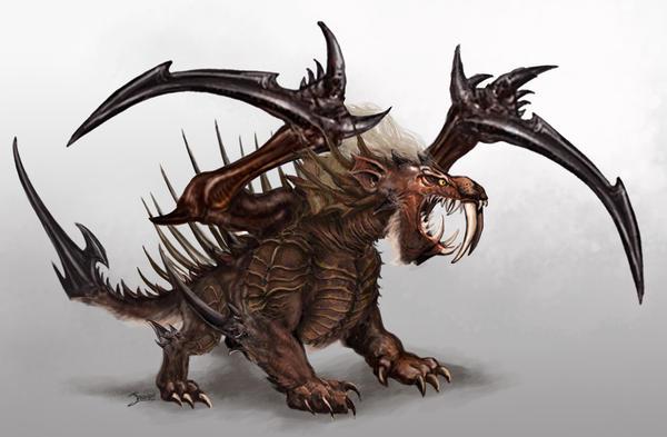 Smilodon mons by loztvampir3