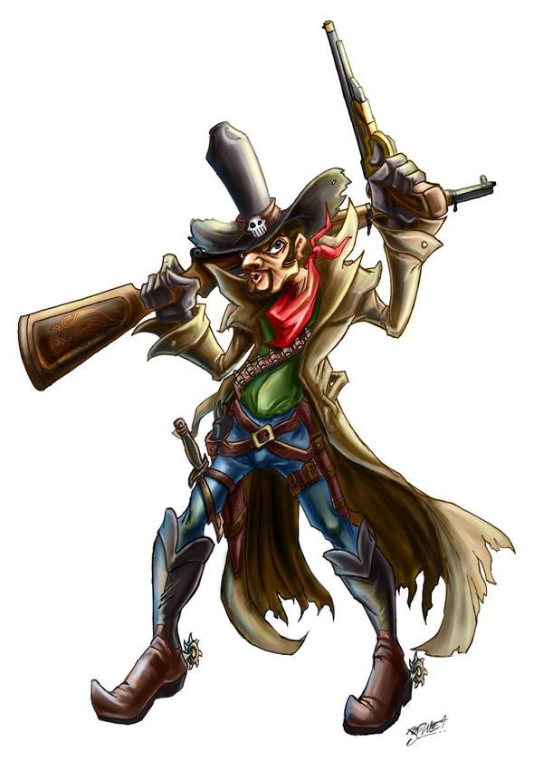 gunslinger by loztvampir3