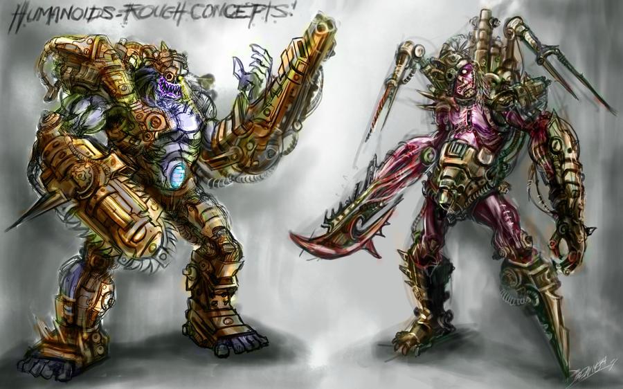 humanoids by loztvampir3
