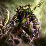 dark mystical warrior