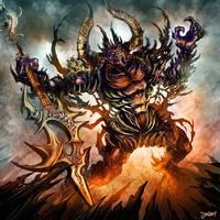 demon warrior by loztvampir3
