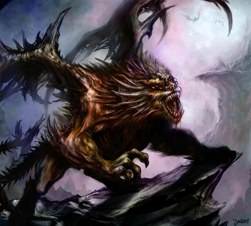 manticore by loztvampir3