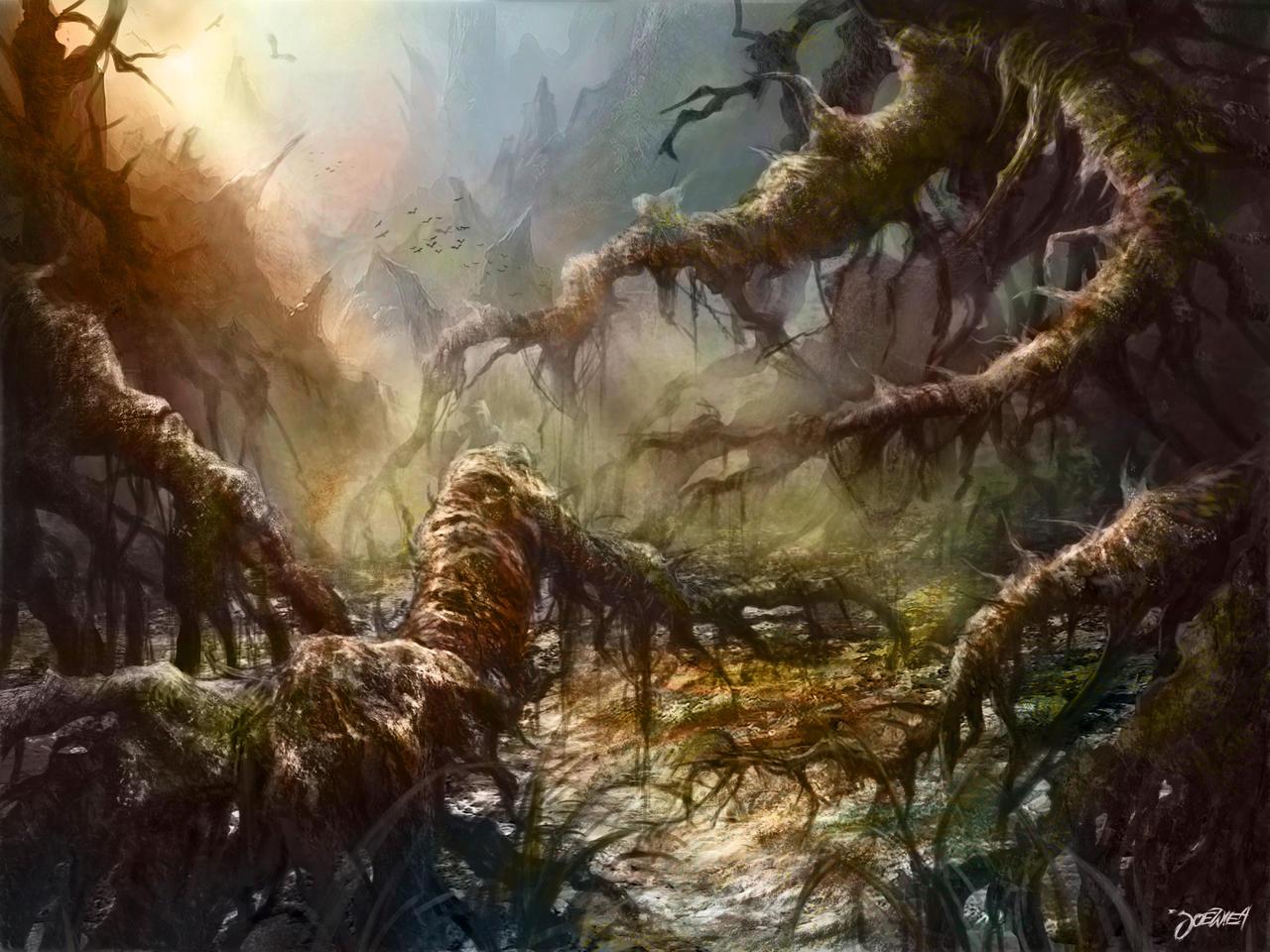 swamp by loztvampir3