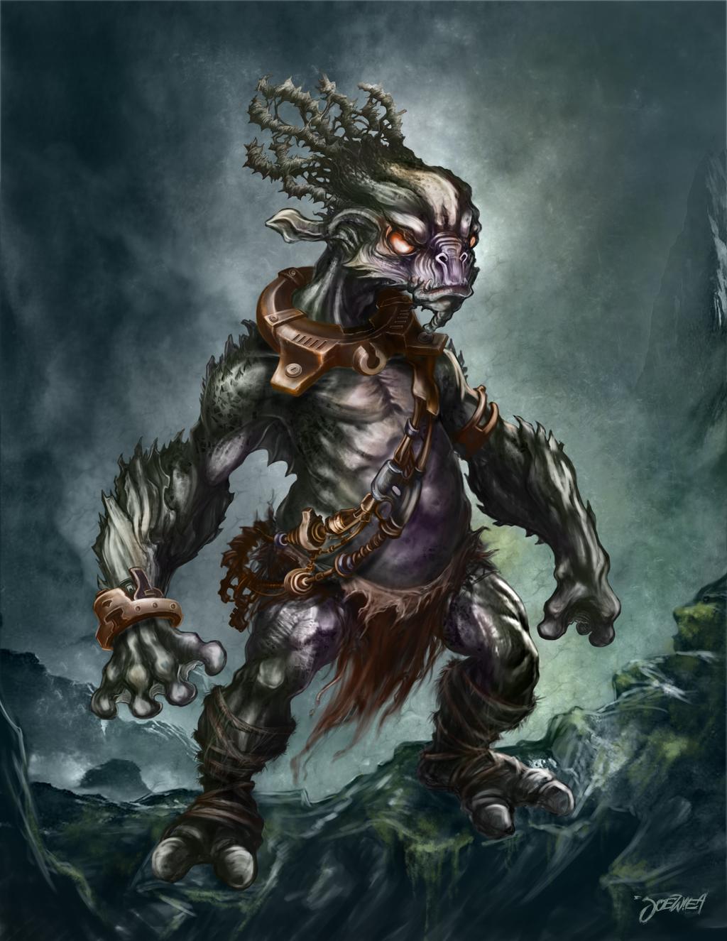 aquatic goblin by loztvampir3