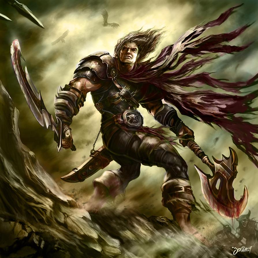 the last warrior by loztvampir3