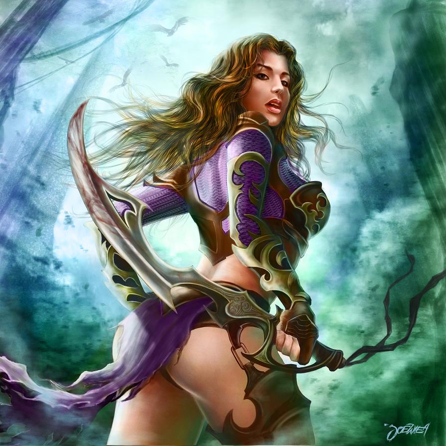 hottie warrior 1 by loztvampir3