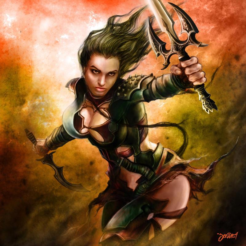 hottie warrior 3