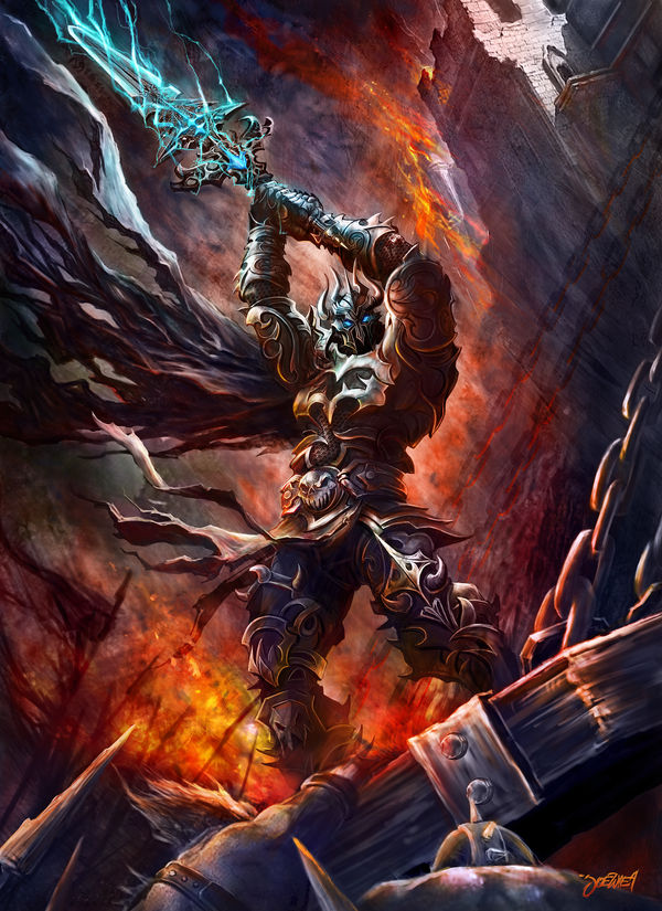Rage of the Death Knight