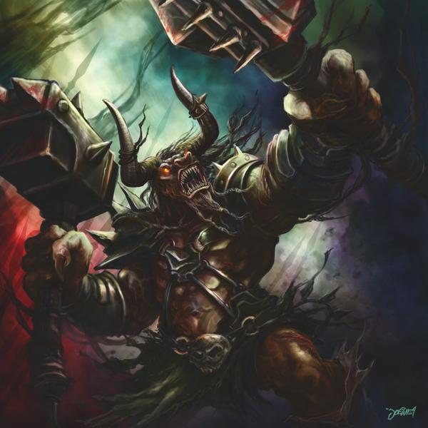 mighty minotaur by loztvampir3