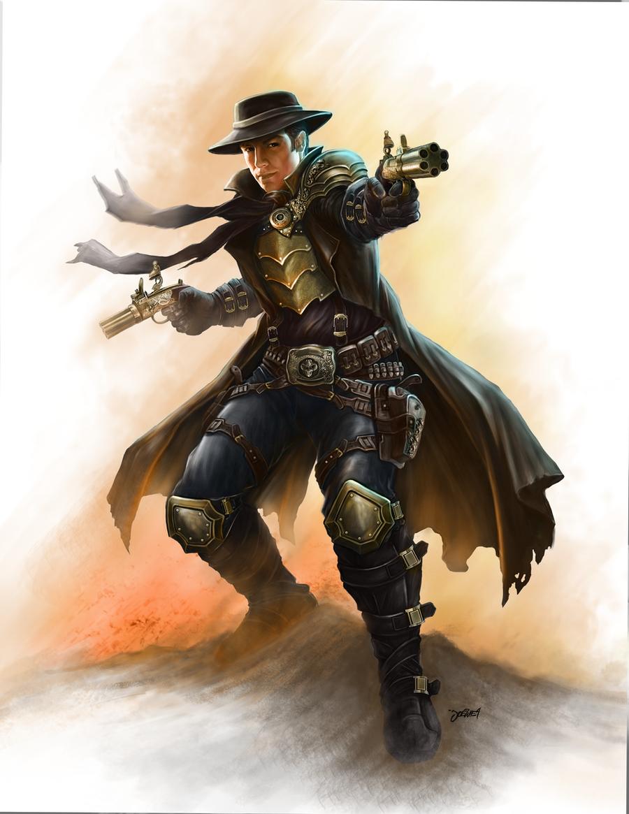 Steampunk Gunslinger By Loztvampir3 On DeviantArt