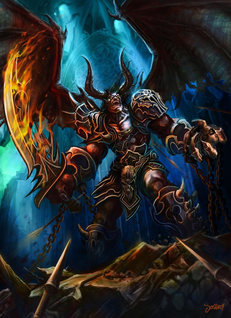 Devil Xorn by loztvampir3