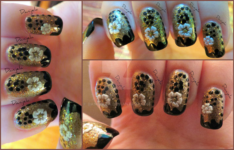 Fall inspired nails by Danijella