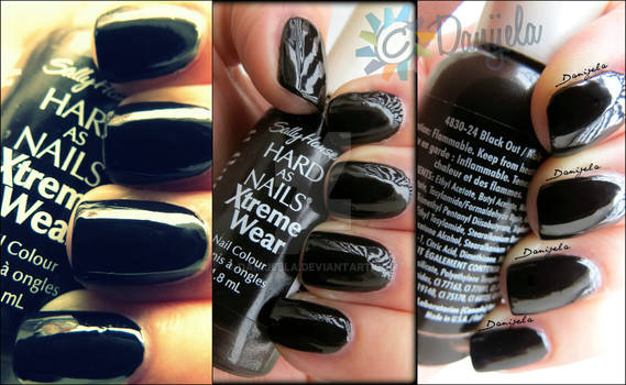 Sally Hansen Hard as Nails - Xtreme Wear #24 Black