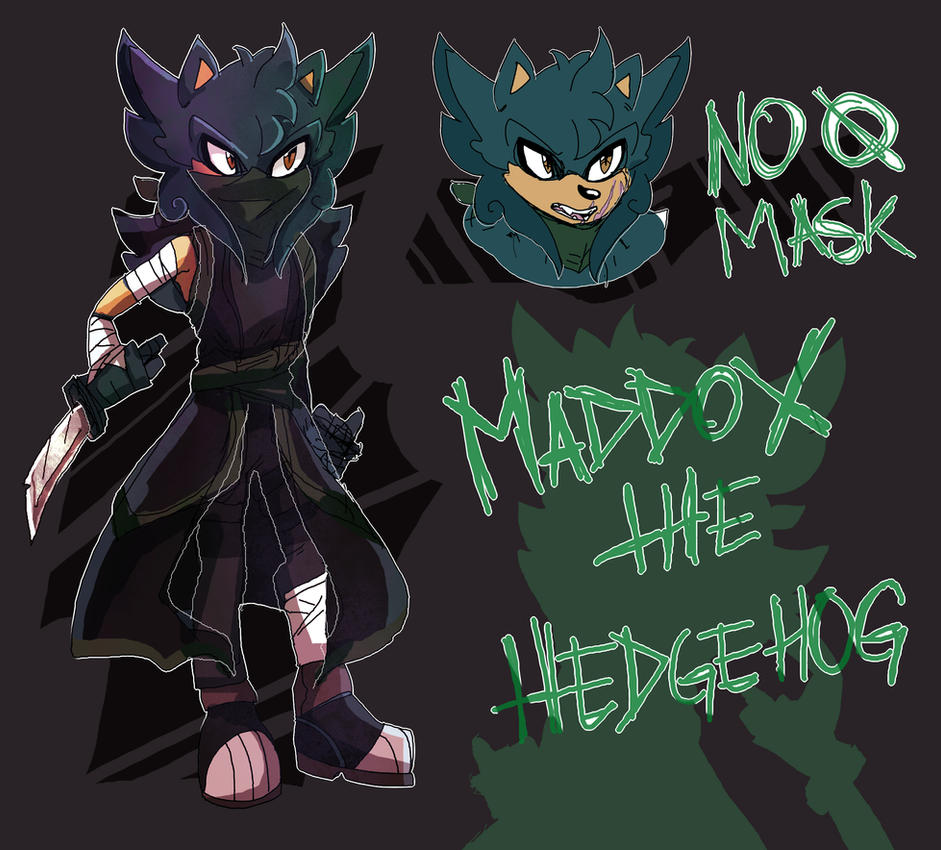 Maddox the Hedgehog by UndeadPuppeteer