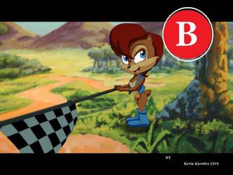 Rally Sonic cartoon Youtube link by KEVIN-K-DEVIANTART