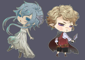 chibis by cmaemon