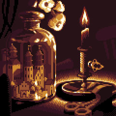 Visby in a jar