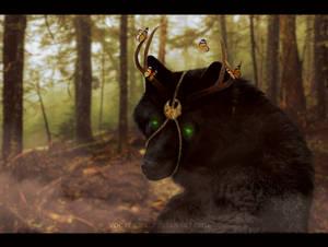 Friendly forest spirit