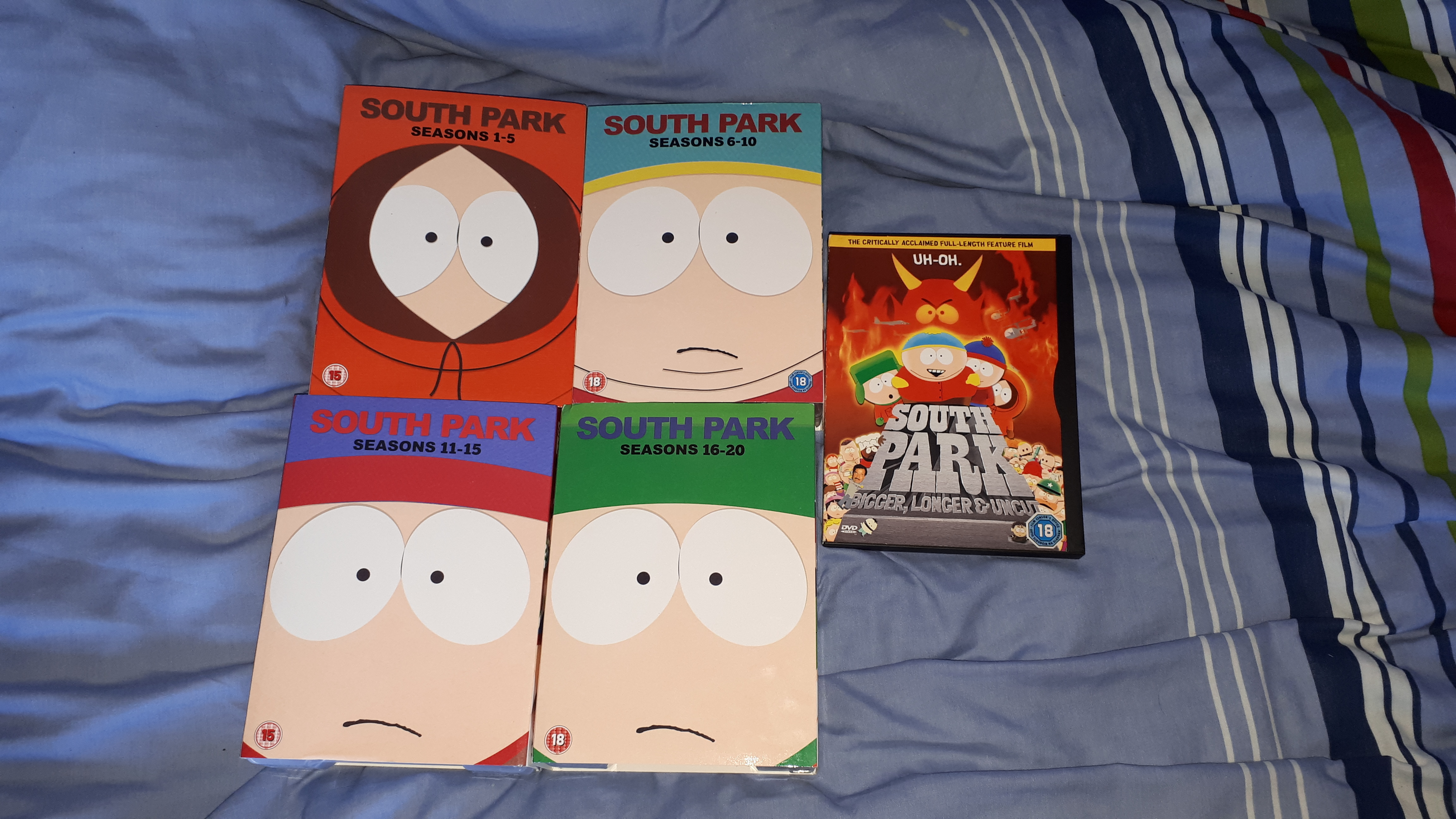 My Complete South Park DVD Collection by jakelsm
