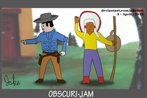 Cowboy + Indian (A Town Called Panic) Obscuri-Jam by jakelsm