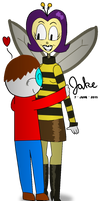 Me and Heartwing [Art Jam Entry]