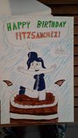 Happy birthday to Fitz!