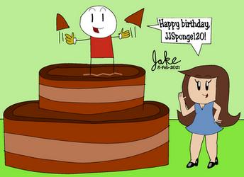 A cake for JJSponge120