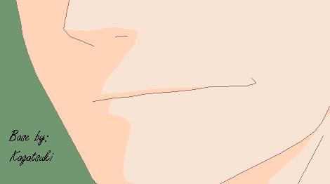 Male Smile .:Base:. by KagaTsuki