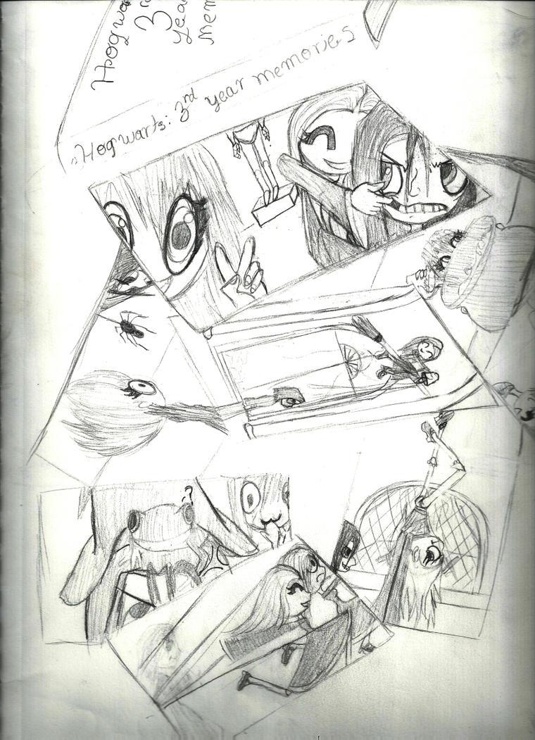 Bothering Snape by KagaTsuki