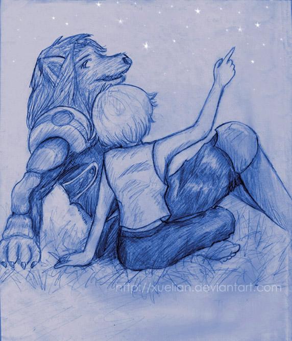 PLANET. Dog+Boy by Escaflowne-fanclub