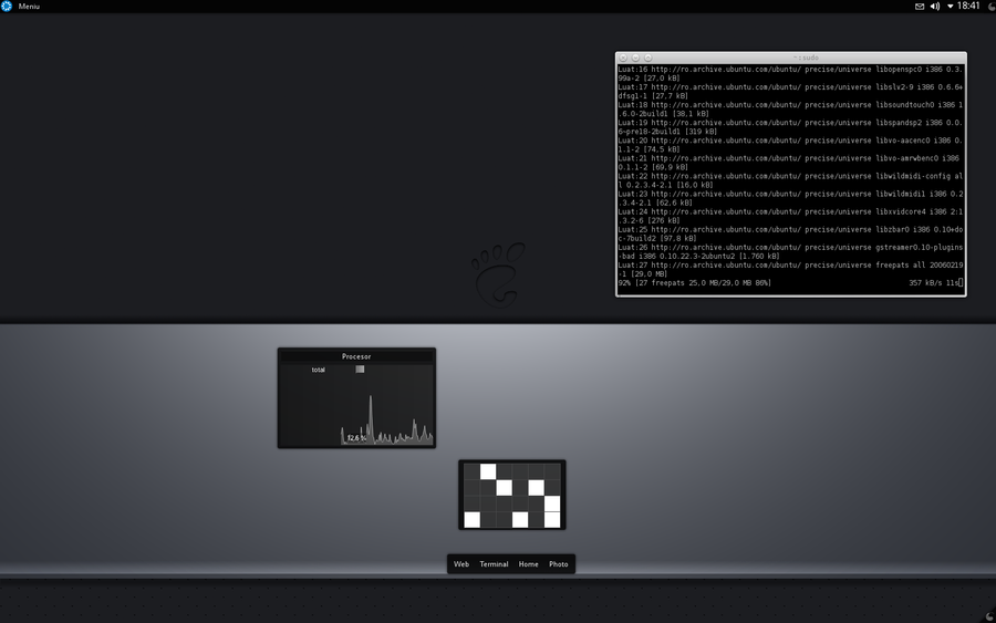 Kubuntu12.04 by 9dZign