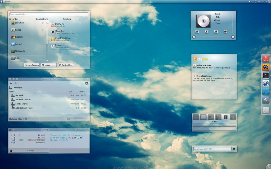 Summer desktop by leoatelier