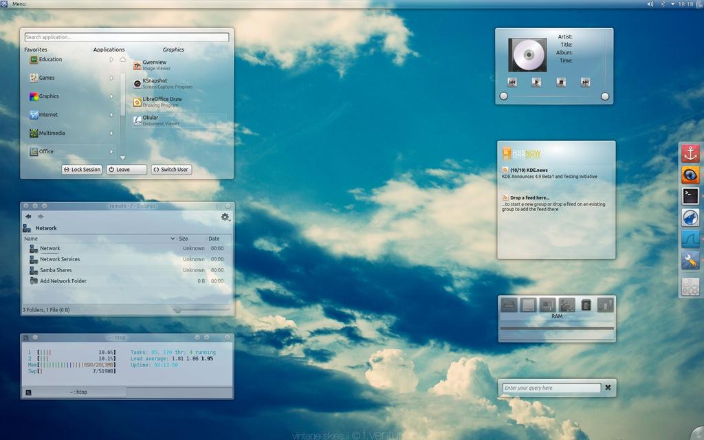 Summer desktop by leoatelier