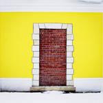 Door and wall