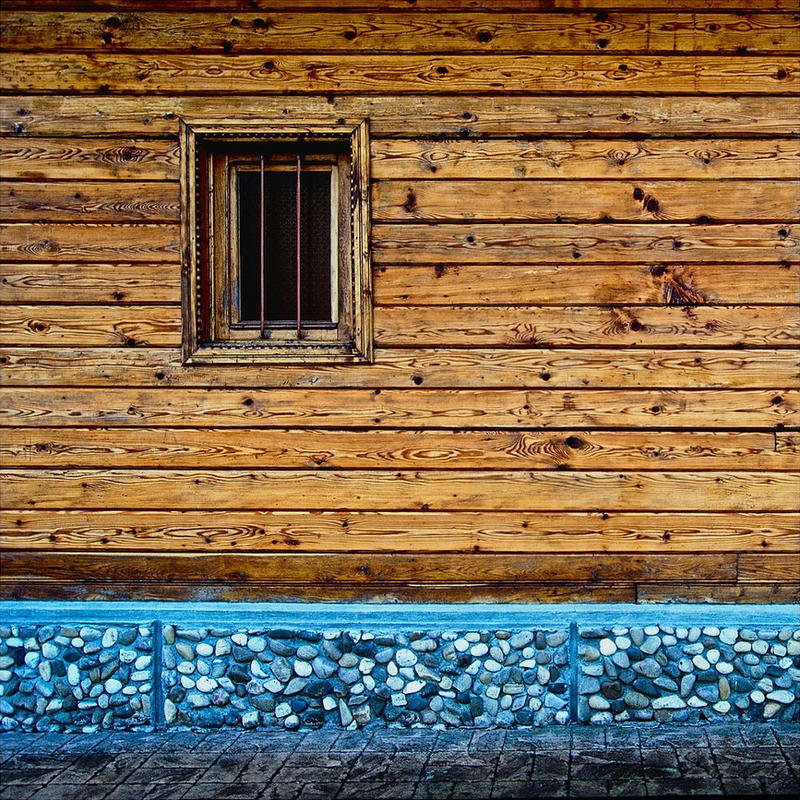 Wood and stone by leoatelier