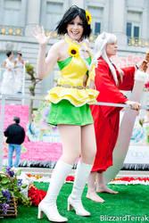 cosplay - makoto - ON A FLOAT by hanyaanfaery