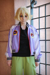 cosplay - tiger and bunny - origami cyclone