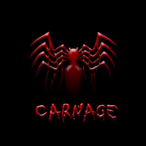 Spiderman carnage logo