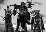 An Elf, an Orc and a Dwarf