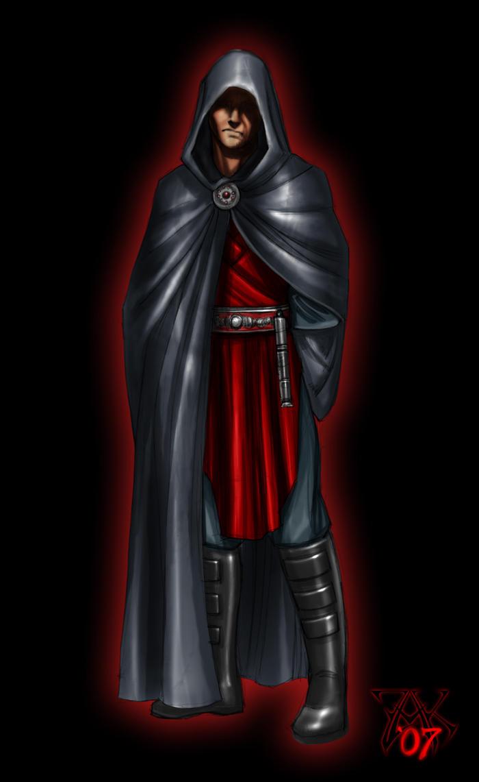 Lyder, fallen Jedi by LazarusReturns