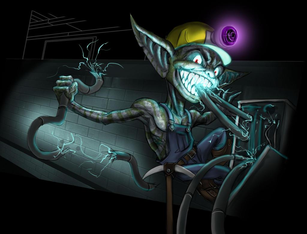 Electric Darkling by LazarusReturns
